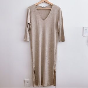Mango maxi tunic dress